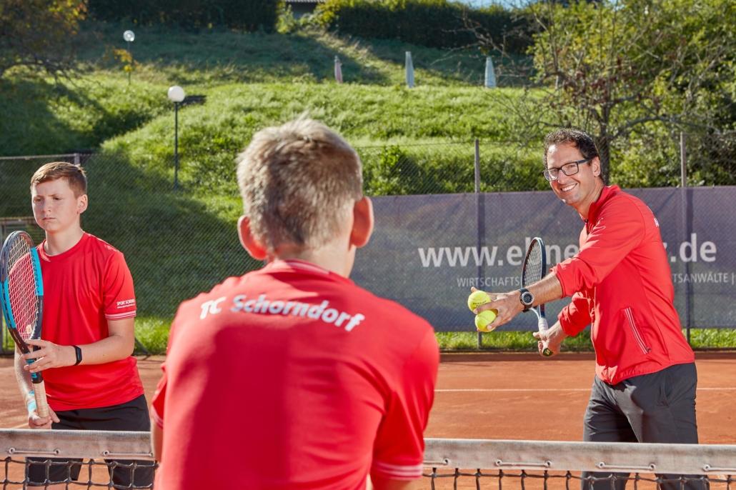 Tennistraining Alexander Bantel Anfänger