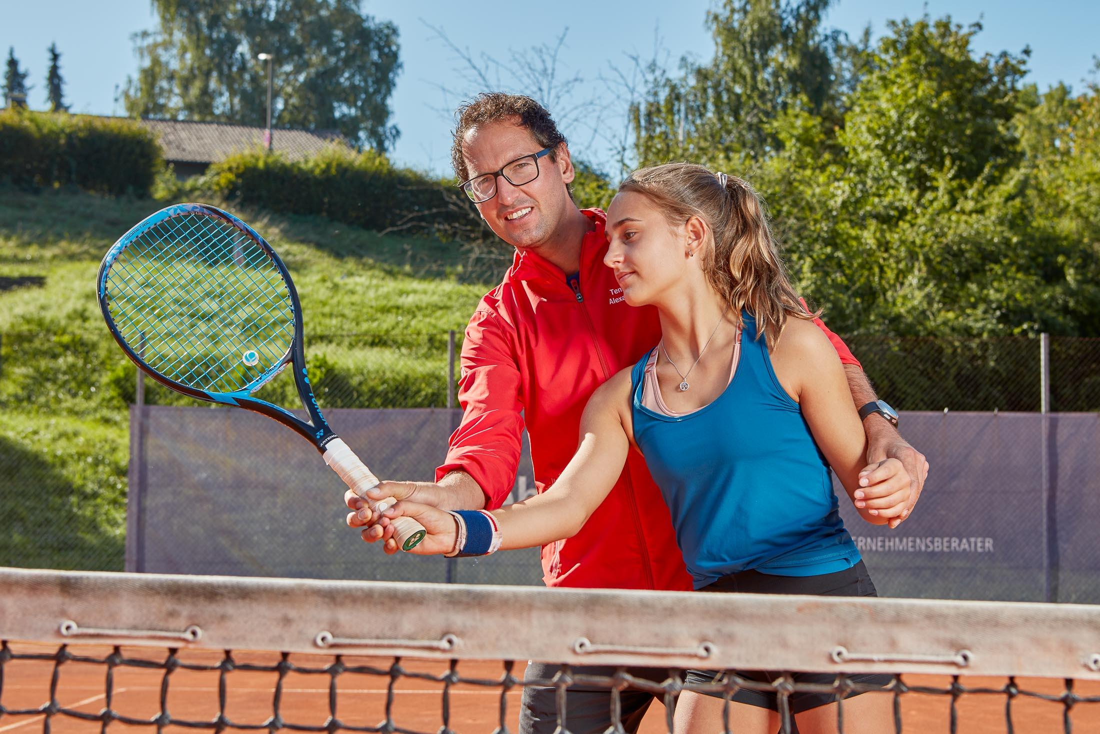 Tennistraining Alexander Bantel Spielerbetreuung