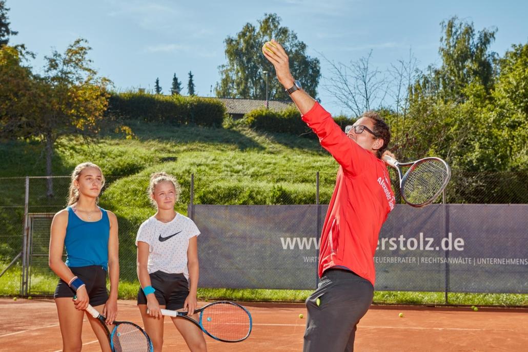 Tennistraining Alexander Bantel Athletiktraining