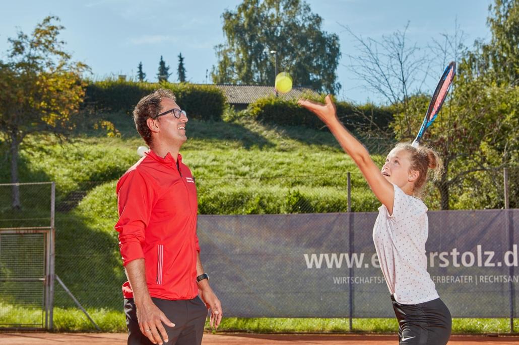Tennistraining Schnupperkurse für Kinder