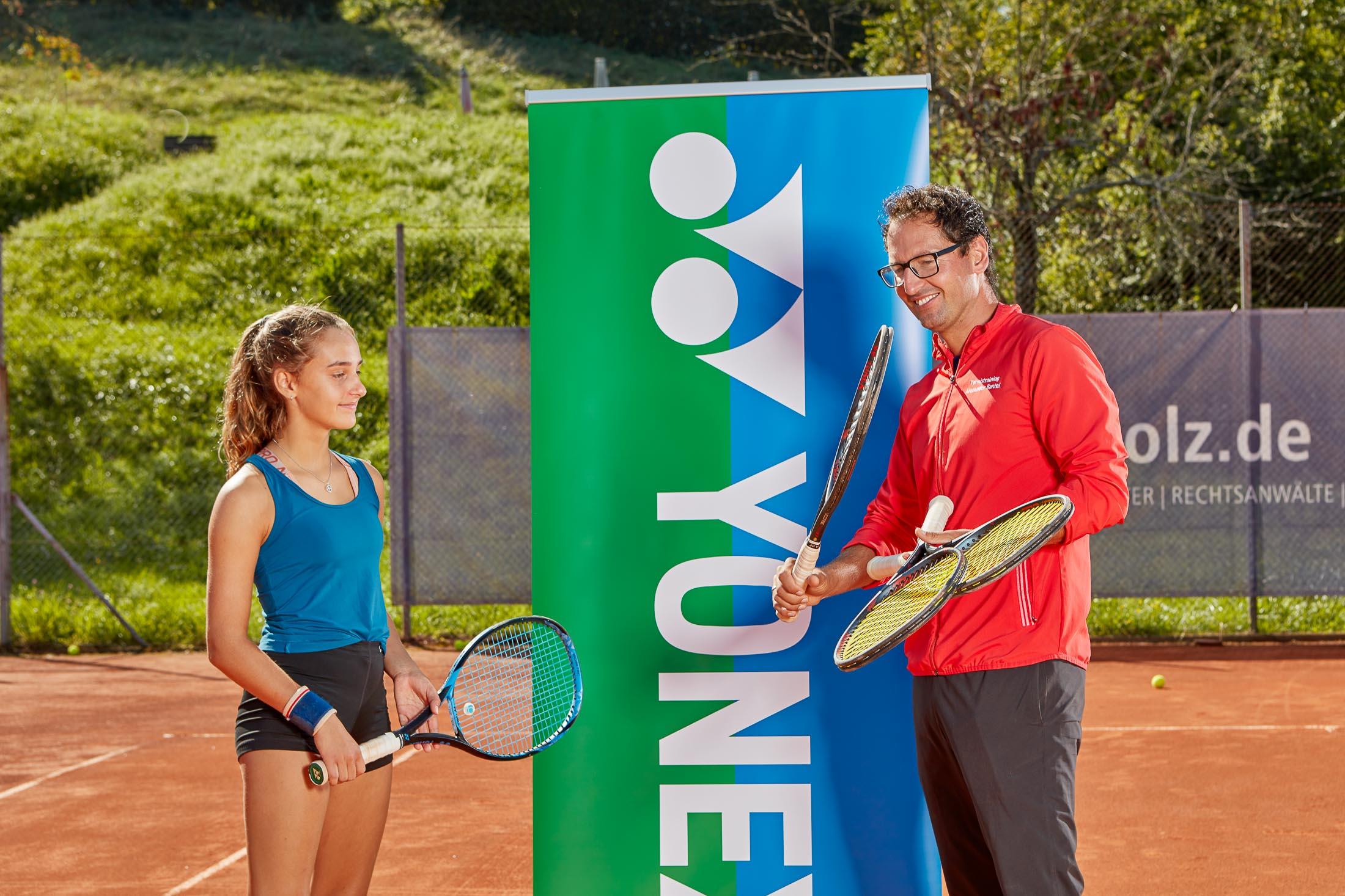 Tennistraining Alexander Bantel Ausrüstung