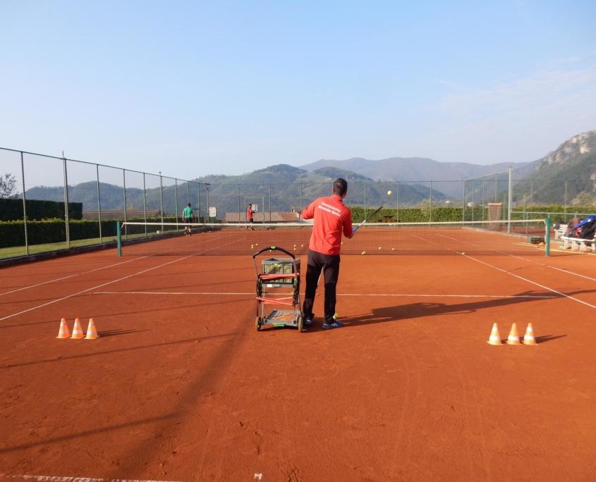 Alexander Bantel Tennistraining Person