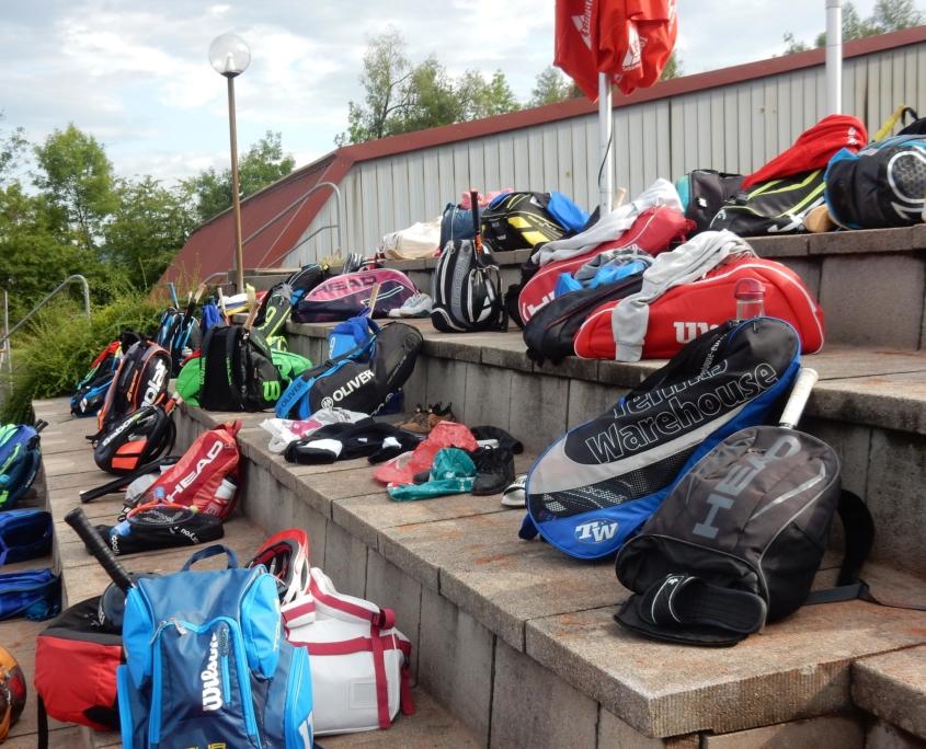 Alexander Bantel Leistungstraining Camps Taschen